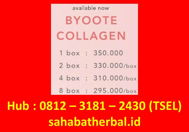Harga Byoote Collagen